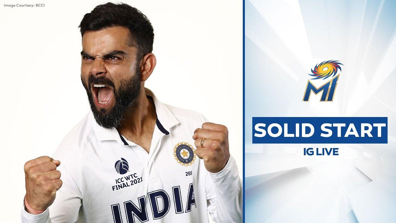 Virat Kohli's solid start in Day 2   विराट की बल्लेबाज़ी   Mumbai Indians