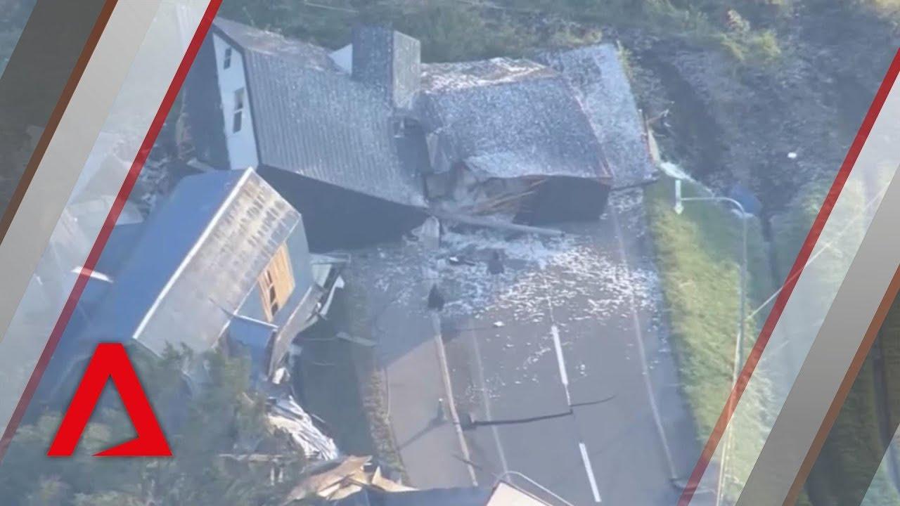 Powerful earthquake hits Japan's Hokkaido