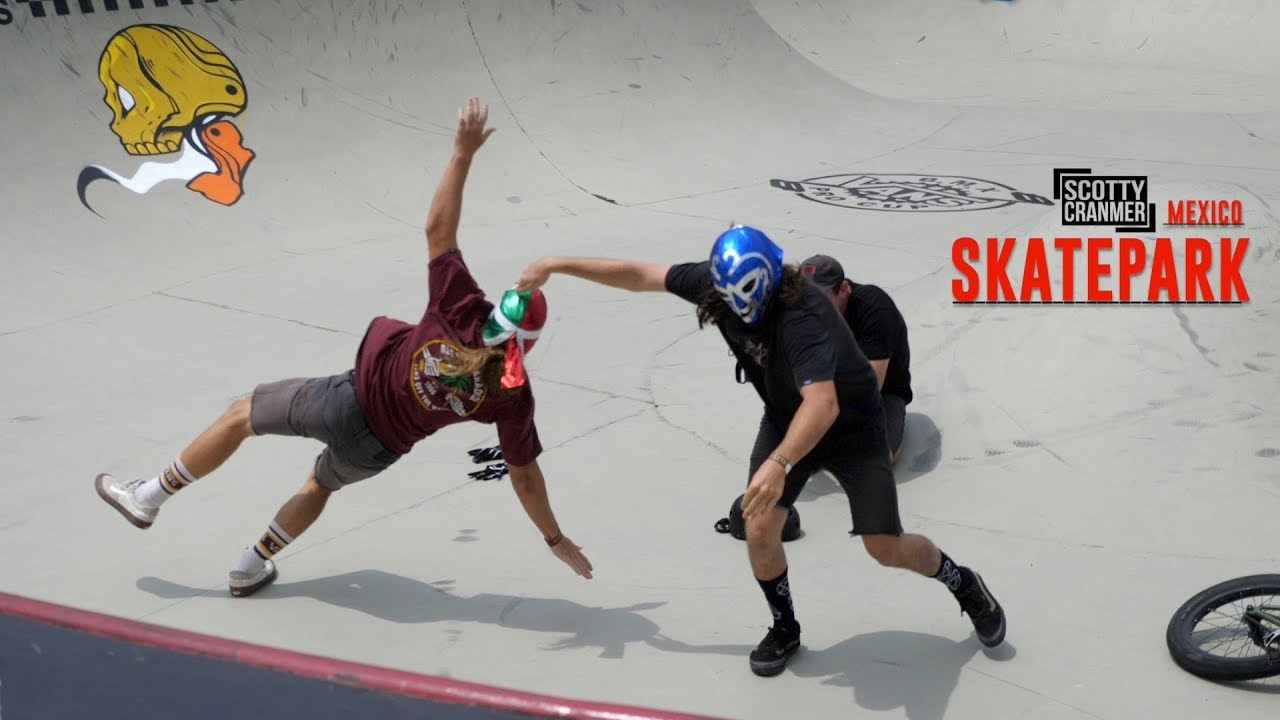 bmx-rider-brawl-in-mexico-at-the-contest