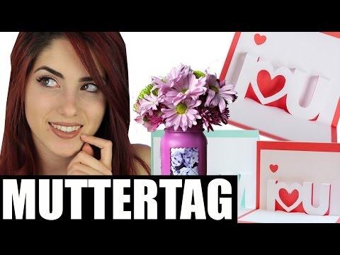 DIY Geschenkideen Muttertag  / Geschenke selber machen last minute I Luisacrashion