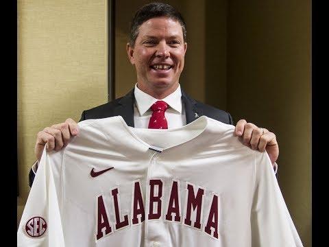 Alabama AD Greg Byrne introduces Brad Bohannon as the Tide's new head baseball coach