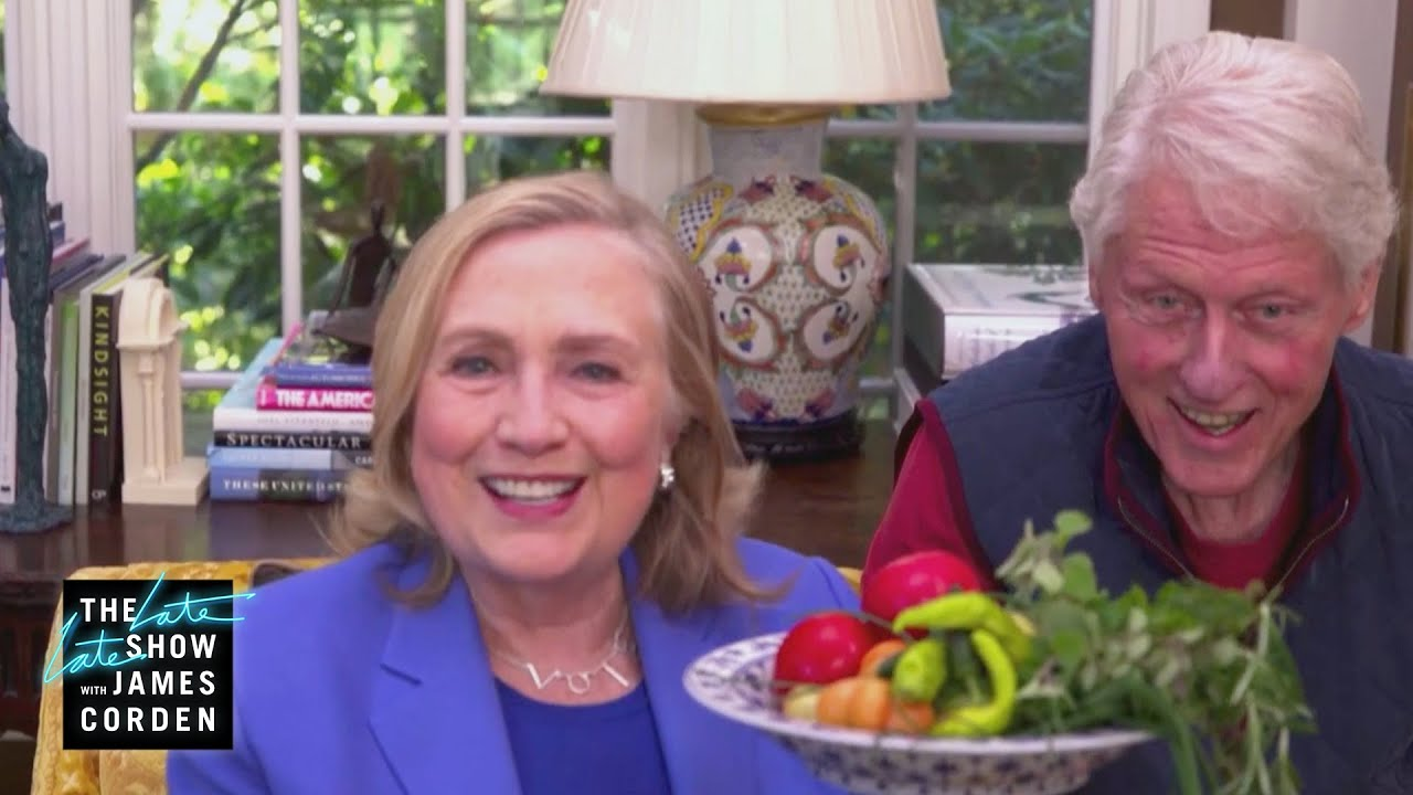 What's Growing In The Clintons' Garden?