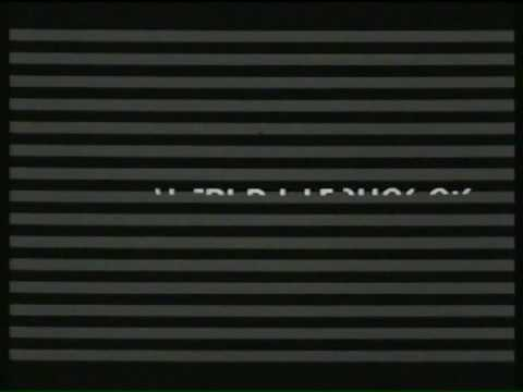 Saul Bass Title Sequence for Hitchcock's 'Psycho'.