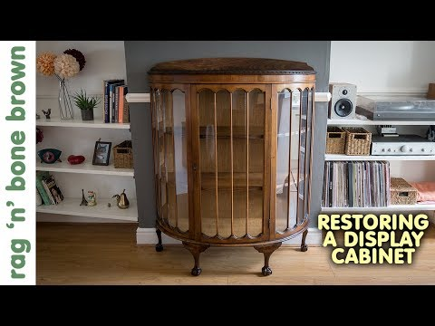 Repairing A Vintage Display Cabinet (Part 1 of 2) from YouTube · Duration:  13 minutes 24 seconds