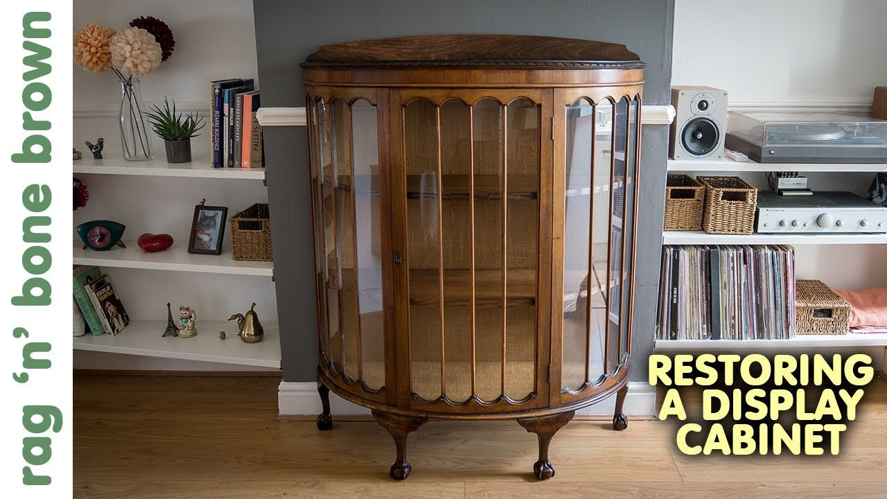 Repairing A Vintage Display Cabinet (Part 1 of 2) - Repairing A Vintage Display Cabinet (Part 1 Of 2) - YouTube
