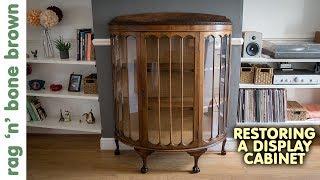 Repairing A Vintage Display Cabinet (Part 1 of 2)