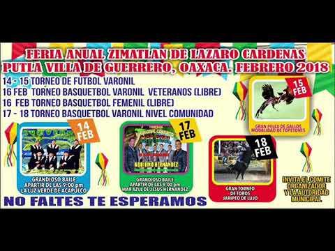 Download Zimatlán de lázaro Cárdenas feria anual 2018