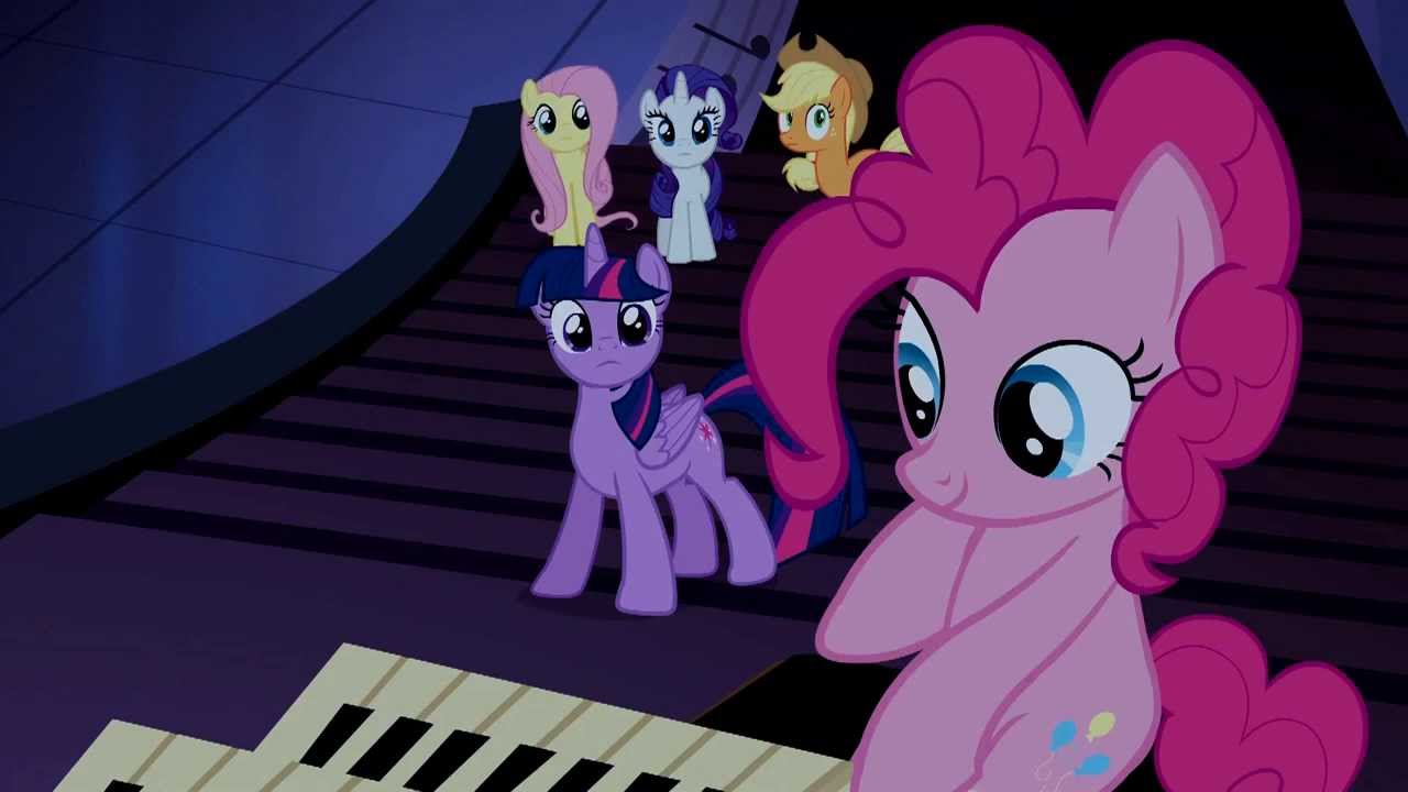 Pinkie Knows How To Play The Organ My Little Pony