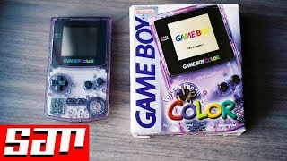 Unboxing a Game Boy Color in 2018 - S.T.E.G!