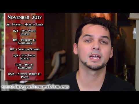 Cancer  November 2017 Monthly Astrology Horoscope