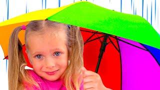 Песня Дождик дождик уходи, а также другие истории с игрушками для детей