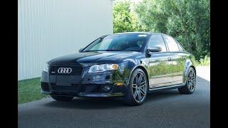 2008 Audi RS4 - Test Drive