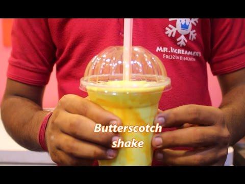 Butterscotch Milk Shake Recipe    Indian Drink Desert