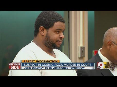 Suspect in Cosmic Pizza murder appears in court