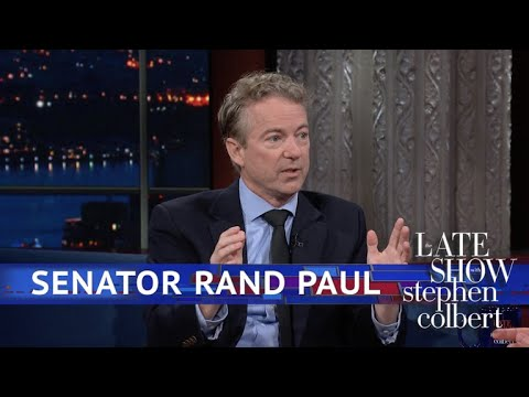 Extended Interview: Colbert Talks To Sen. Rand Paul
