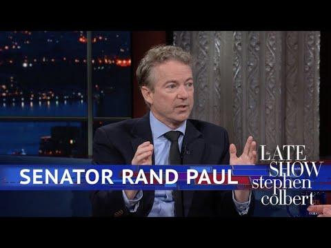Extended Interview: Colbert Talks To Sen. Rand Paul