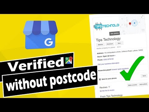 How to Verify Google my Business Listing without Postcode | GMB Phone Verification