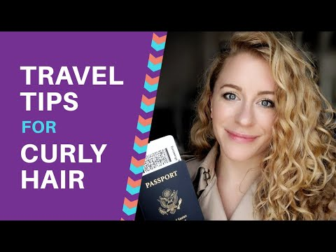 Travel Tips for Curly and Wavy Hair