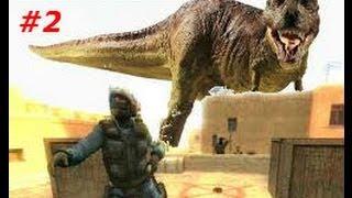 Counter-Strike: Source - Isla Nublar - Zombie Escape - Hard