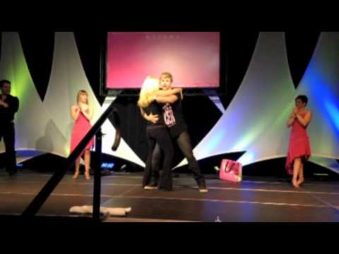 Derek Hough Dancing at Bust A Move Breast Cancer Fundraiser