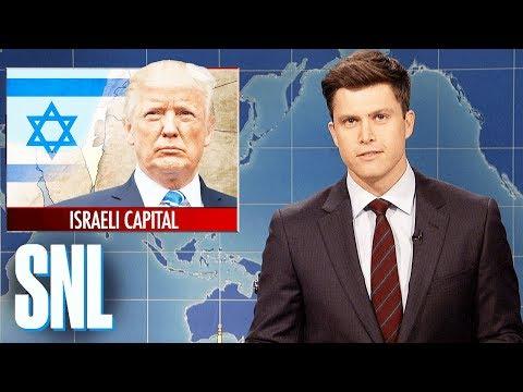 Weekend Update on Trump Recognizing Jerusalem as Israeli Capital - SNL