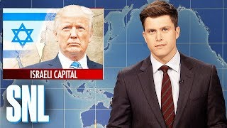 Weekend Update On Trump Recognizing Jerusalem As Israeli Capital - SNL