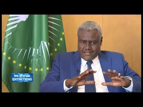 Les grands entretiens de Brou Aka Pascal avec Moussa Faki Mahamat (Union Africaine)
