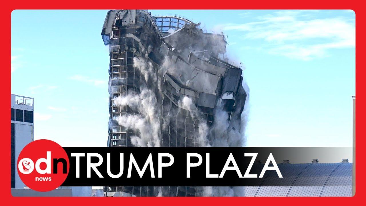 In Seconds, Atlantic City's Trump Plaza Hotel And Casino Is ...