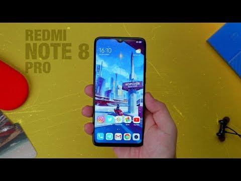 Обзор Xiaomi Redmi Note 8 Pro - проблемы с экраном?