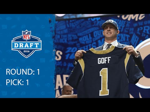 Jared Goff (QB) | Pick 1: Los Angeles Rams | 2016 NFL Draft