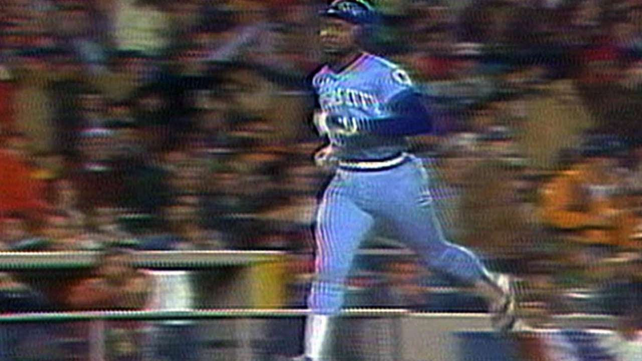 1980 ALCS Gm3 Whites Homer Gives Royals 1 0 Lead