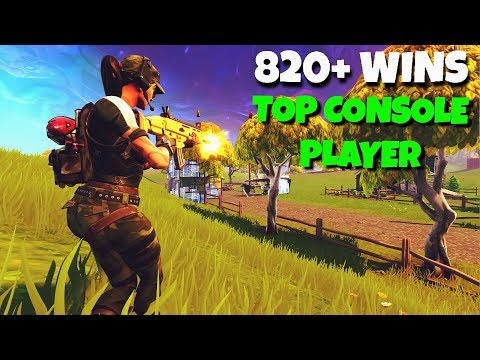 """""""PRO CONSOLE BUILDER"""" 820+ WINS TOP FORTNITE PLAYS w/ JARS"""