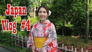 Japan vlog #4: Mặc kimono