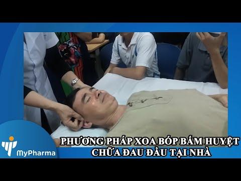Xoa bóp bấm huyệt bài chữa đau đầu