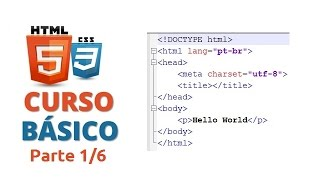 🌎 Primeiros passos com HTML5 e CSS3 - Parte 1: Introdução ao HTML5