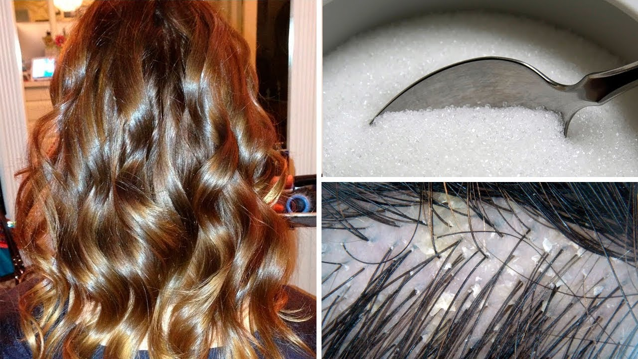 This Is Why You Should Be Mixing Sugar In Your Shampoo