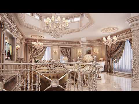 Роскошный дизайн интерьера дома