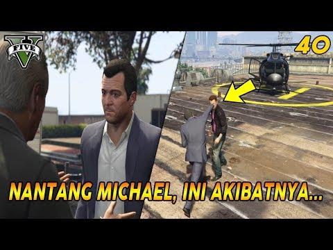 NANTANG DUEL DI ATAS GEDUNG   PANDUAN MISI GTA 5 (40) MR RICHARDS 100% COMPLETION GOLD MEDAL