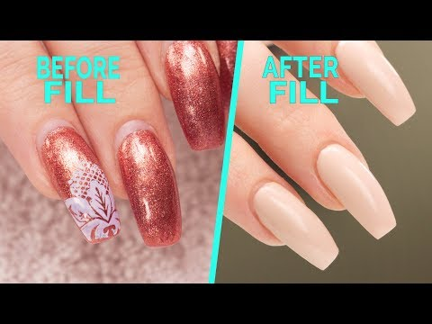 Nail Fill and Rebalance - Step By Step Tutorial