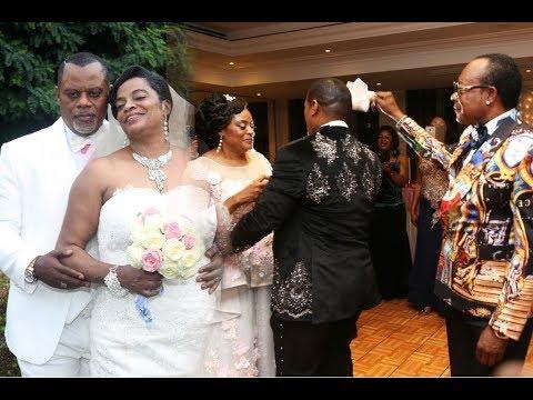 Mariage de Chantal et Jean Musafiri.