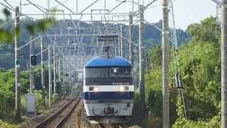 2018/08/28 JR貨物 朝の貨物列車2本共フルコン!!  1060レと1071レ
