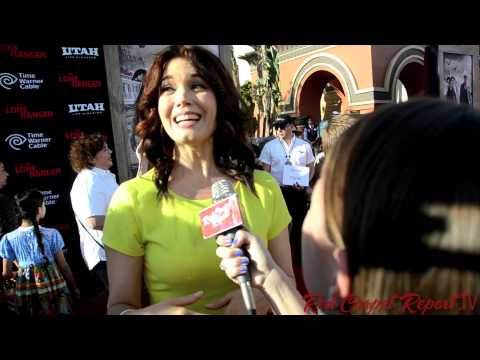 Bellamy Young at the World Premiere of The Lone Ranger @BellamyYoung