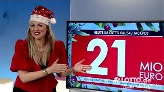Ziehung der Lottozahlen vom 21.12.2019