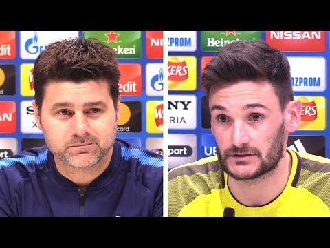 Mauricio Pochettino & Hugo Lloris Pre-Match Press Conference - PART 1 - Tottenham v Juventus