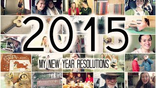 2015 New Year's Resolutions Thumbnail