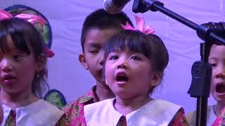 "Lagu ""Wahai Guruku"" dari TK Xaverius 1 Dempo Dalam. Pentas Seni TK Katolik Palembang."