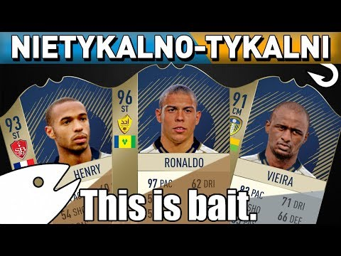 FIFA 18 - KUPIŁEM IKONE ZA 10.000 MONET! - Potężne nazwiska w składzie - Nietykalno-tykalni