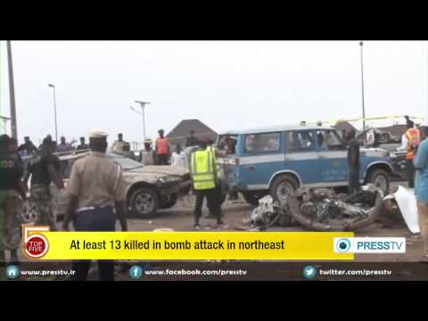 At Least 13 People Killed In Bomb Attack In Nigeria