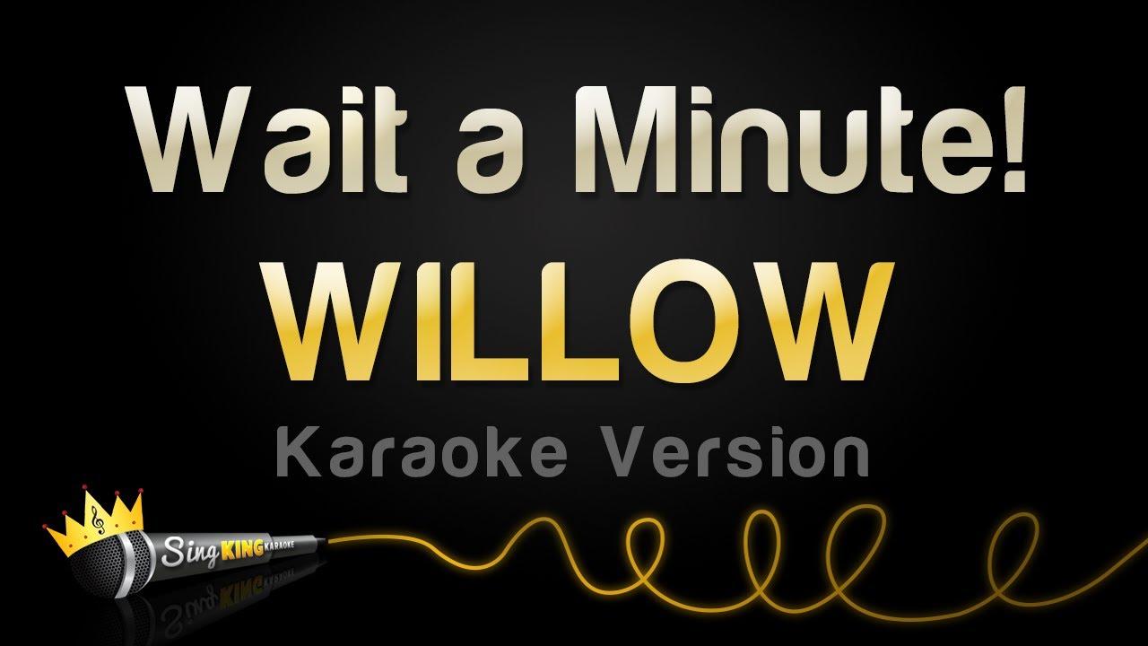 WILLOW - Wait a Minute! (Karaoke Version)