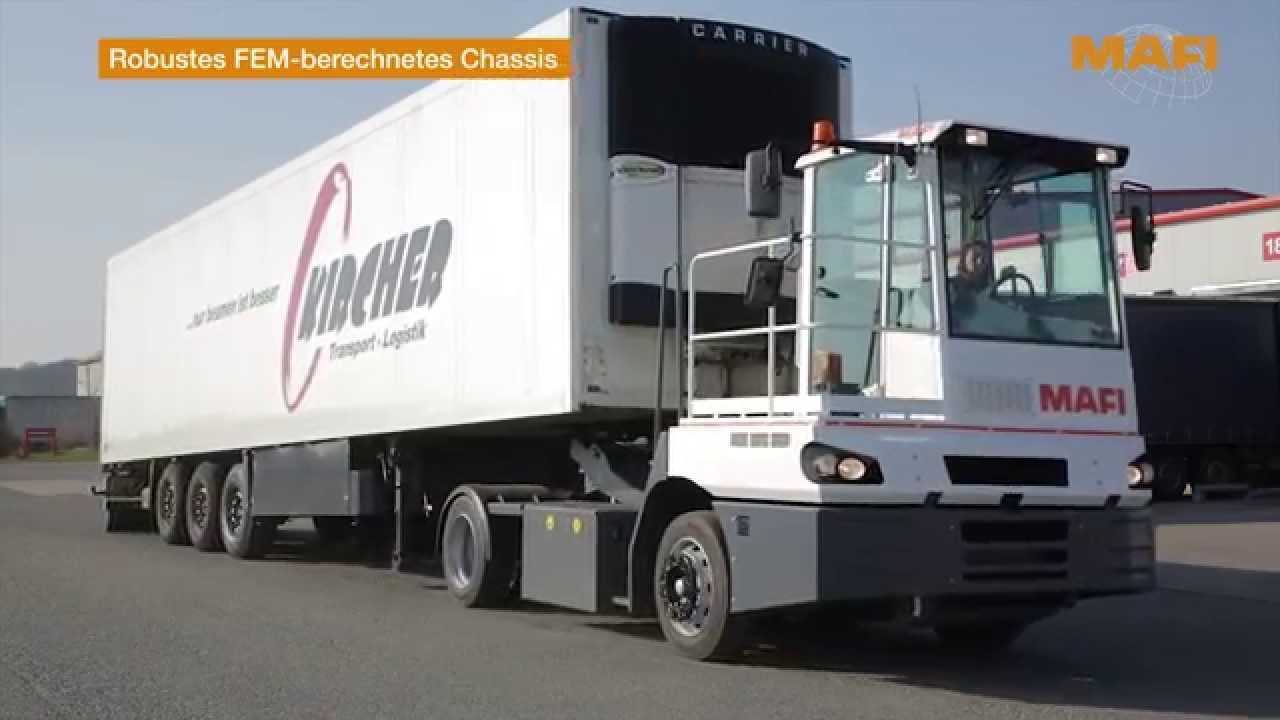 Manufacturer of tractors for internal transport in seaports